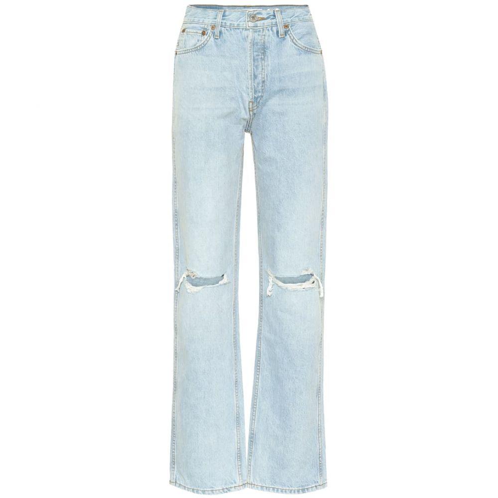 リダン Re/Done レディース ジーンズ・デニム ボトムス・パンツ【Loose high-rise straight jeans】