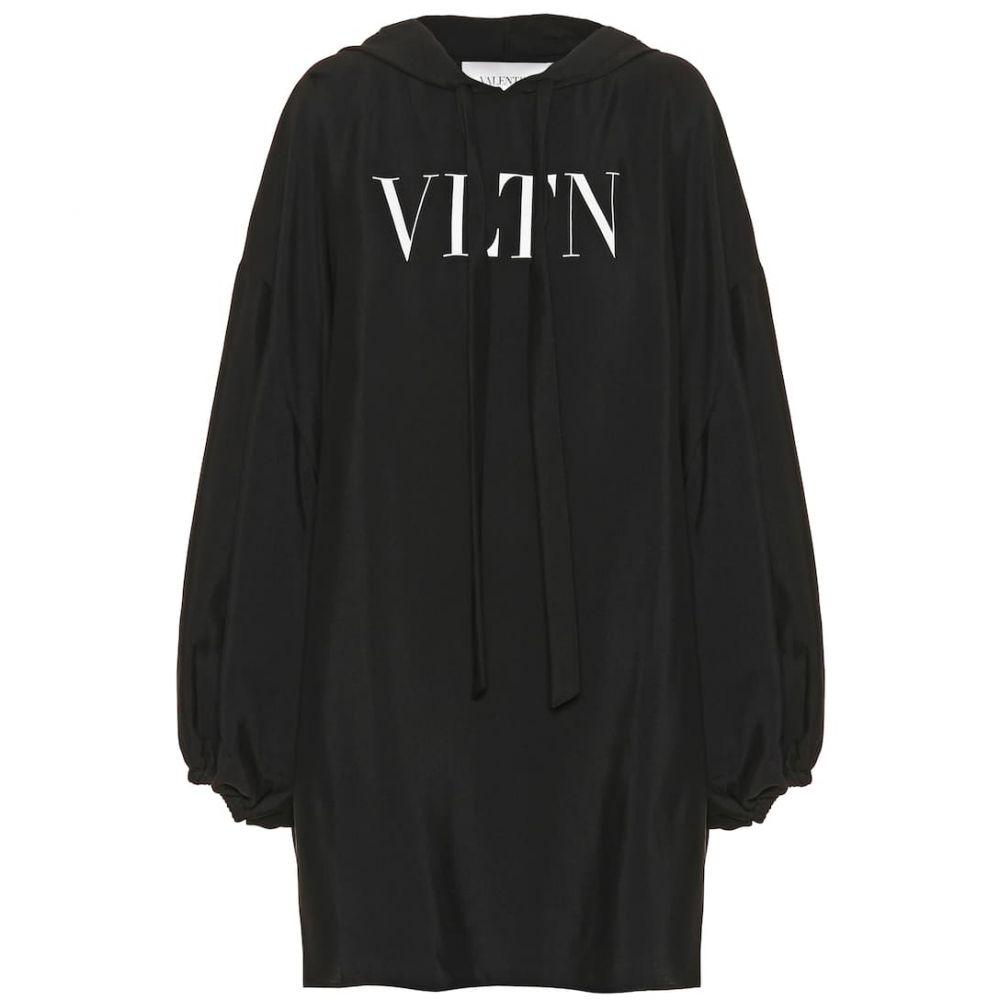 ヴァレンティノ Valentino レディース ワンピース ワンピース・ドレス【VLTN hooded minidress】