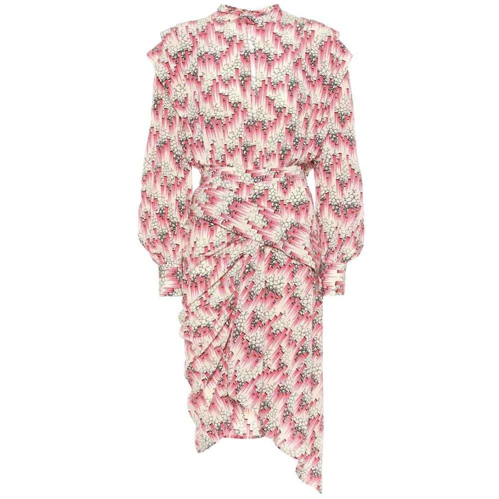 イザベル マラン Isabel Marant レディース ワンピース ワンピース・ドレス【Rieti printed stretch-silk dress】Pink
