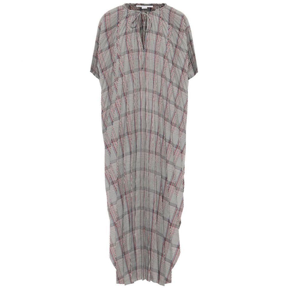 ステラ マッカートニー Stella McCartney レディース ワンピース ワンピース・ドレス【Check wool-blend dress】Black
