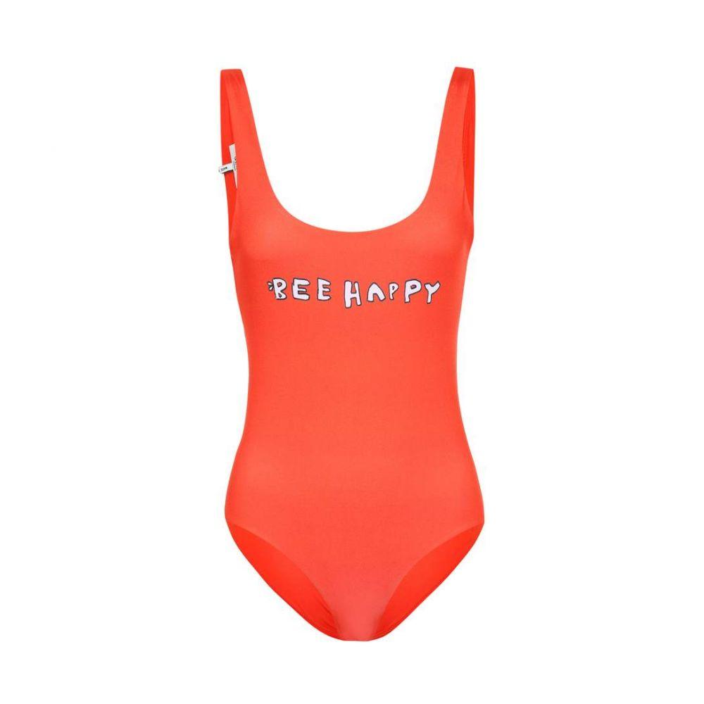 ガニー Ganni レディース ワンピース 水着・ビーチウェア【One-piece swimsuit】Big Apple Red