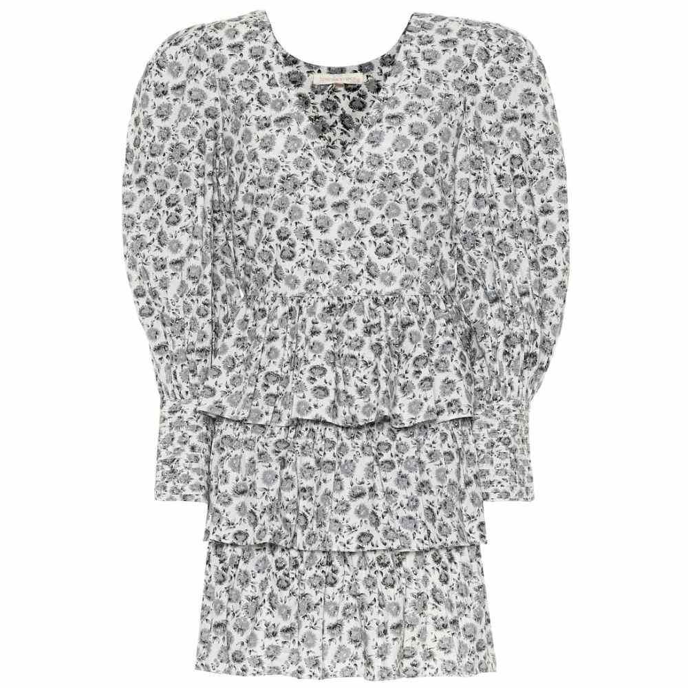 ラブシャックファンシー LoveShackFancy レディース ワンピース ワンピース・ドレス【Paris floral cotton minidress】Warm Grey