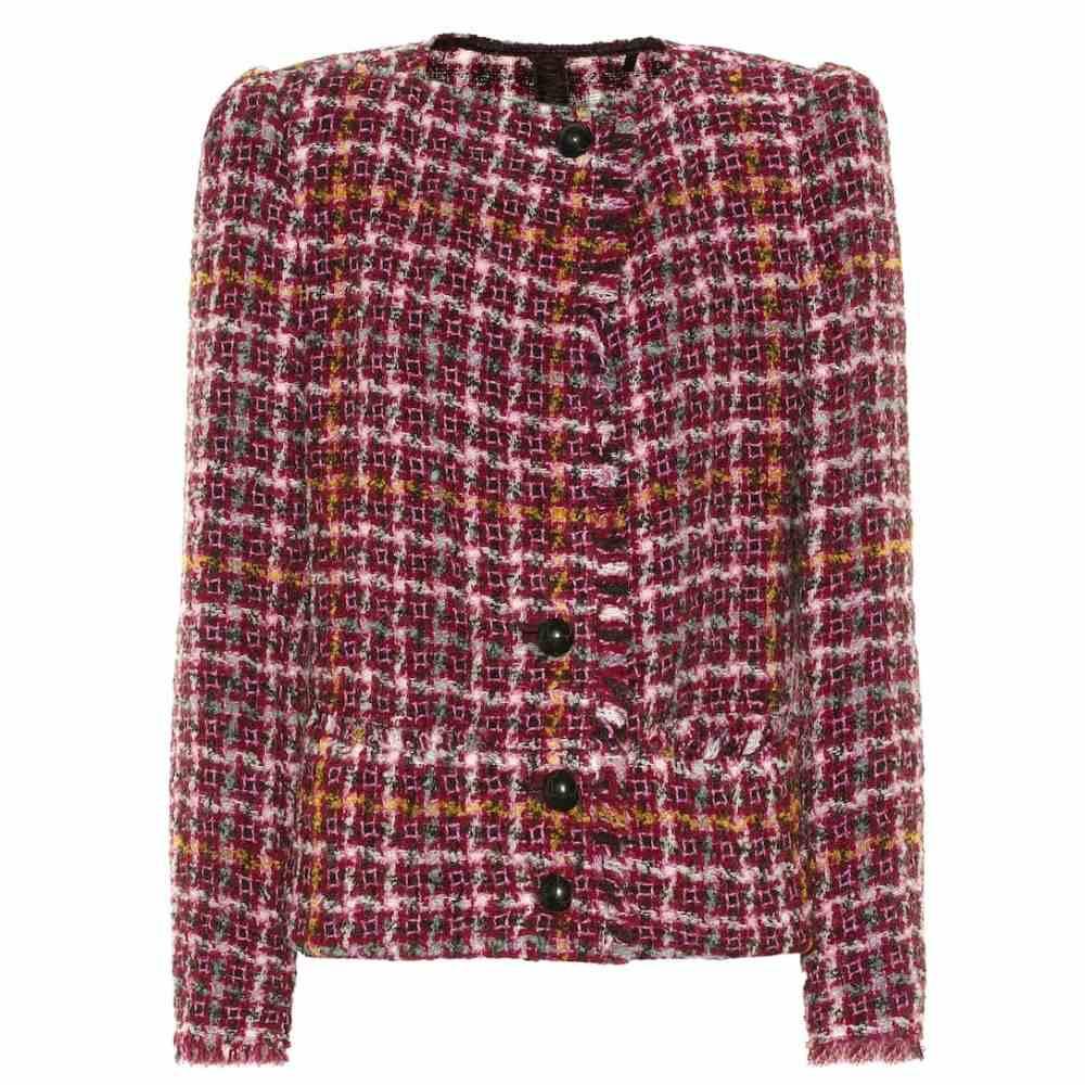 イザベル マラン Isabel Marant レディース スーツ・ジャケット アウター【zoa tweed jacket】Fuchsia