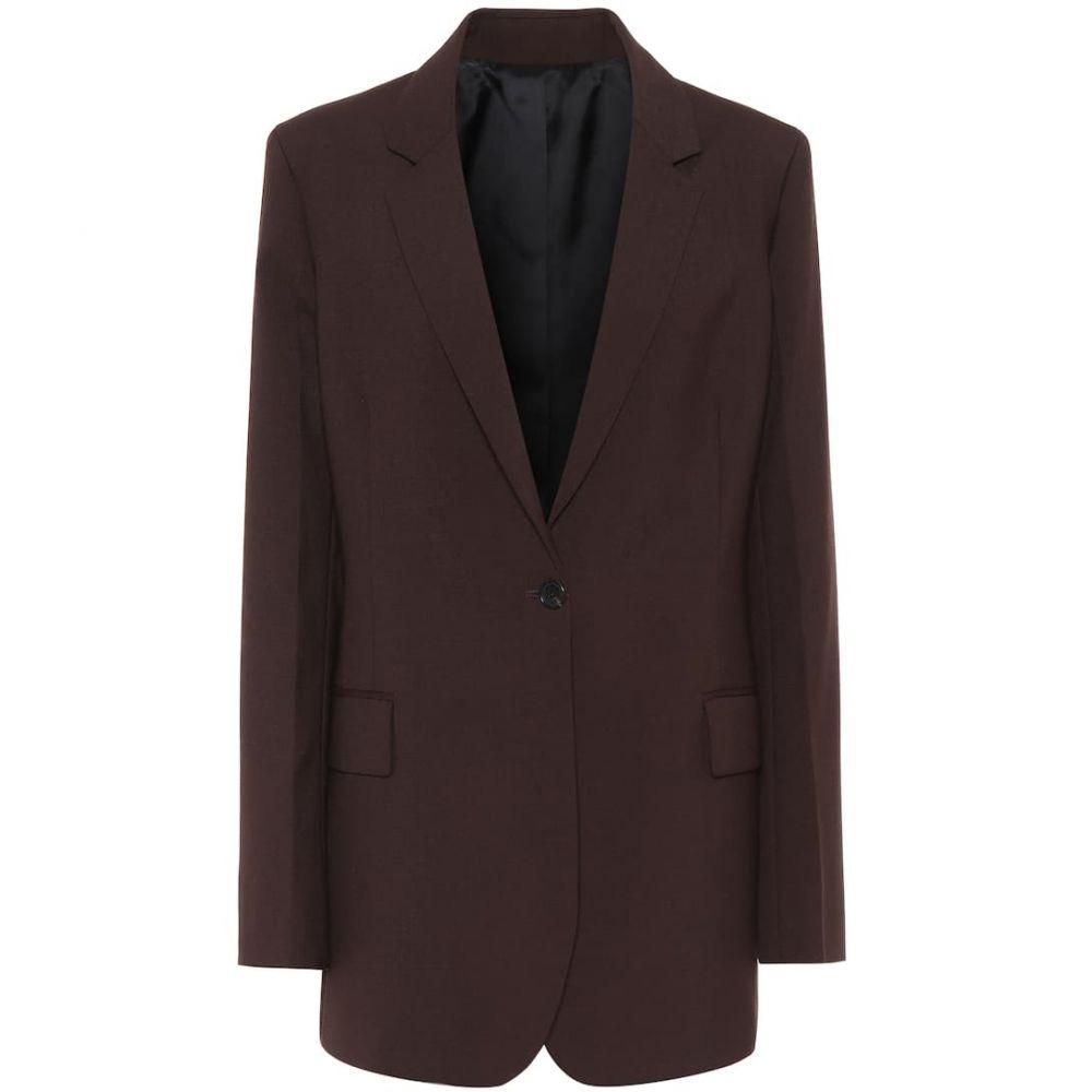 ジョゼフ Joseph レディース スーツ・ジャケット アウター【john wool-blend blazer】Mahogany
