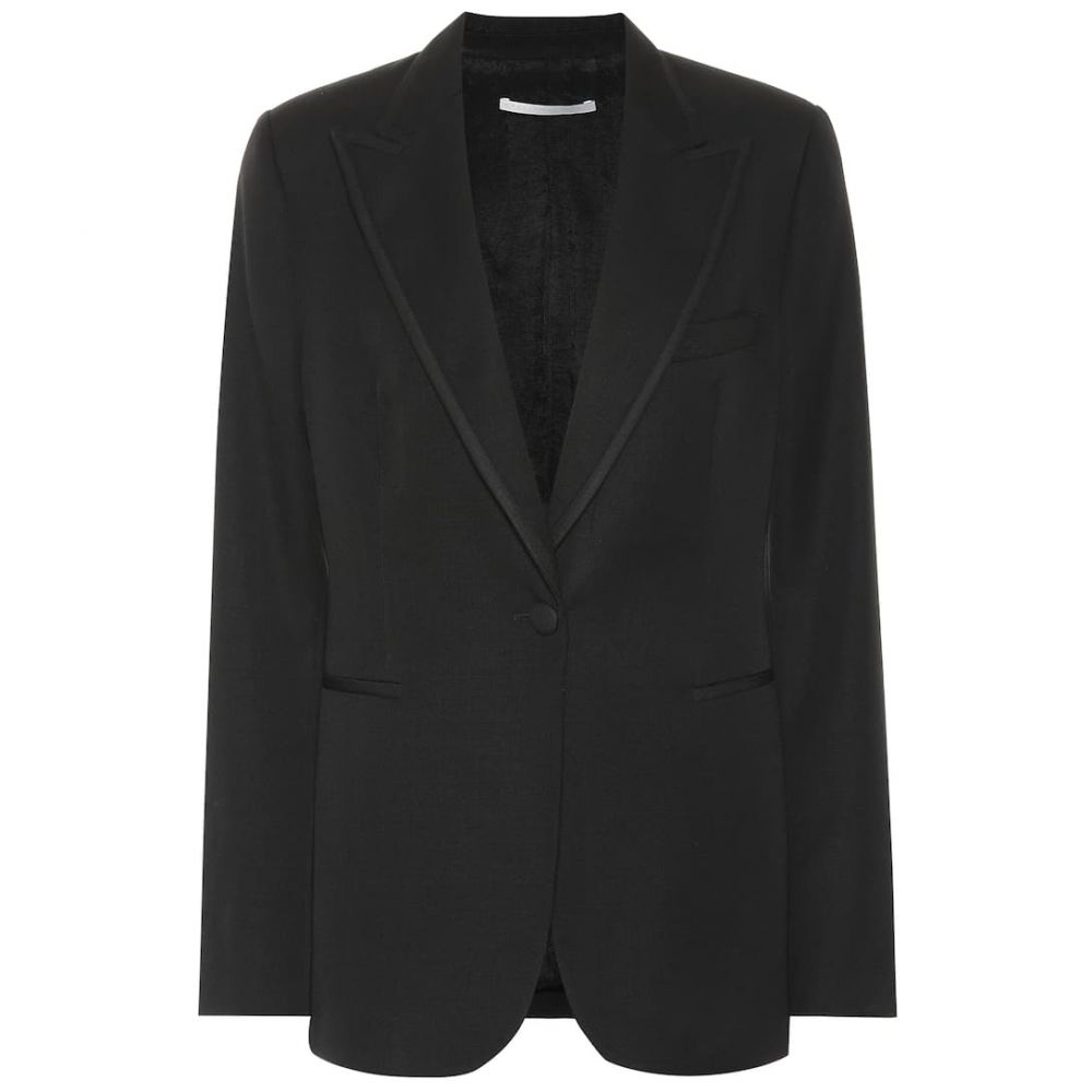 ステラ マッカートニー Stella McCartney レディース スーツ・ジャケット アウター【wool blazer】Black