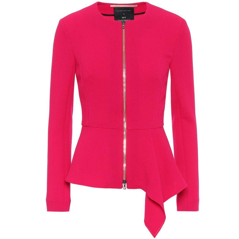 ローラン ムレ Roland Mouret レディース ジャケット アウター【delen wool jacket】Scarlett Red