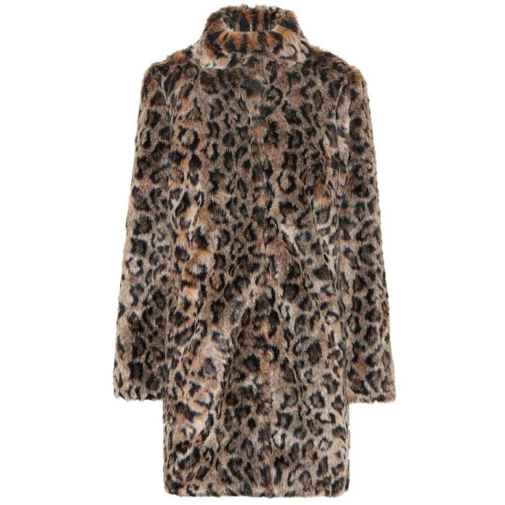 ベルベット グラハム&スペンサー Velvet レディース コート ファーコート アウター【chrissie leopard faux fur coat】Multi