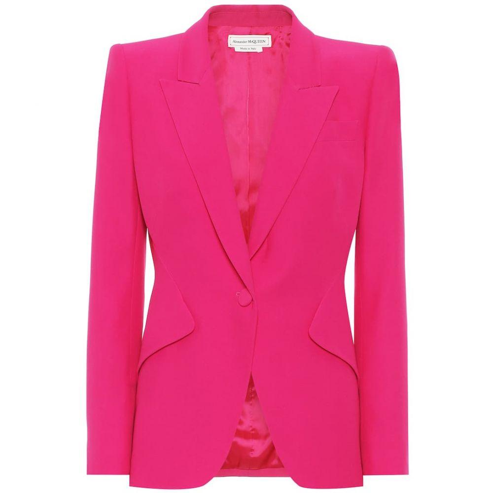 アレキサンダー マックイーン Alexander McQueen レディース スーツ・ジャケット アウター【crepe blazer】Orchid Pink