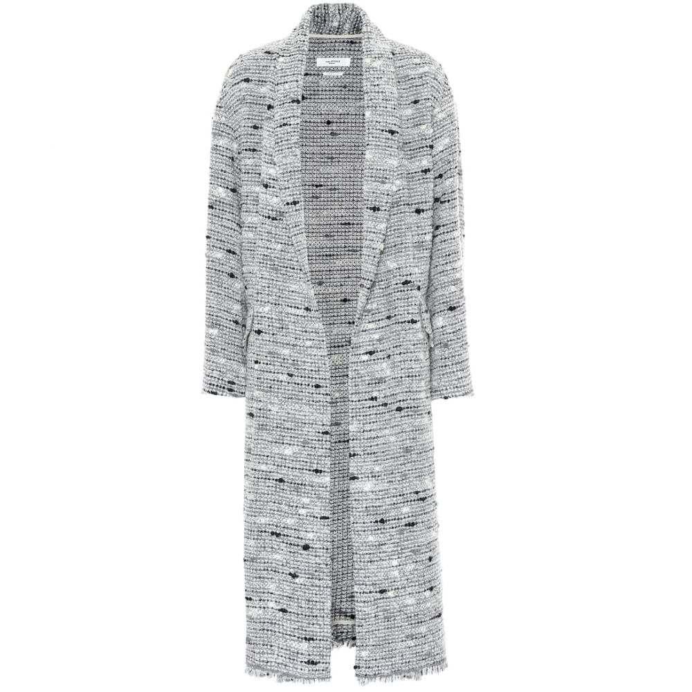 イザベル マラン Isabel Marant, Etoile レディース コート アウター【faby tweed coat】Grey