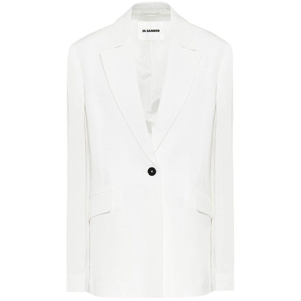 ジル サンダー Jil Sander レディース スーツ・ジャケット アウター【single-breasted blazer】Natural