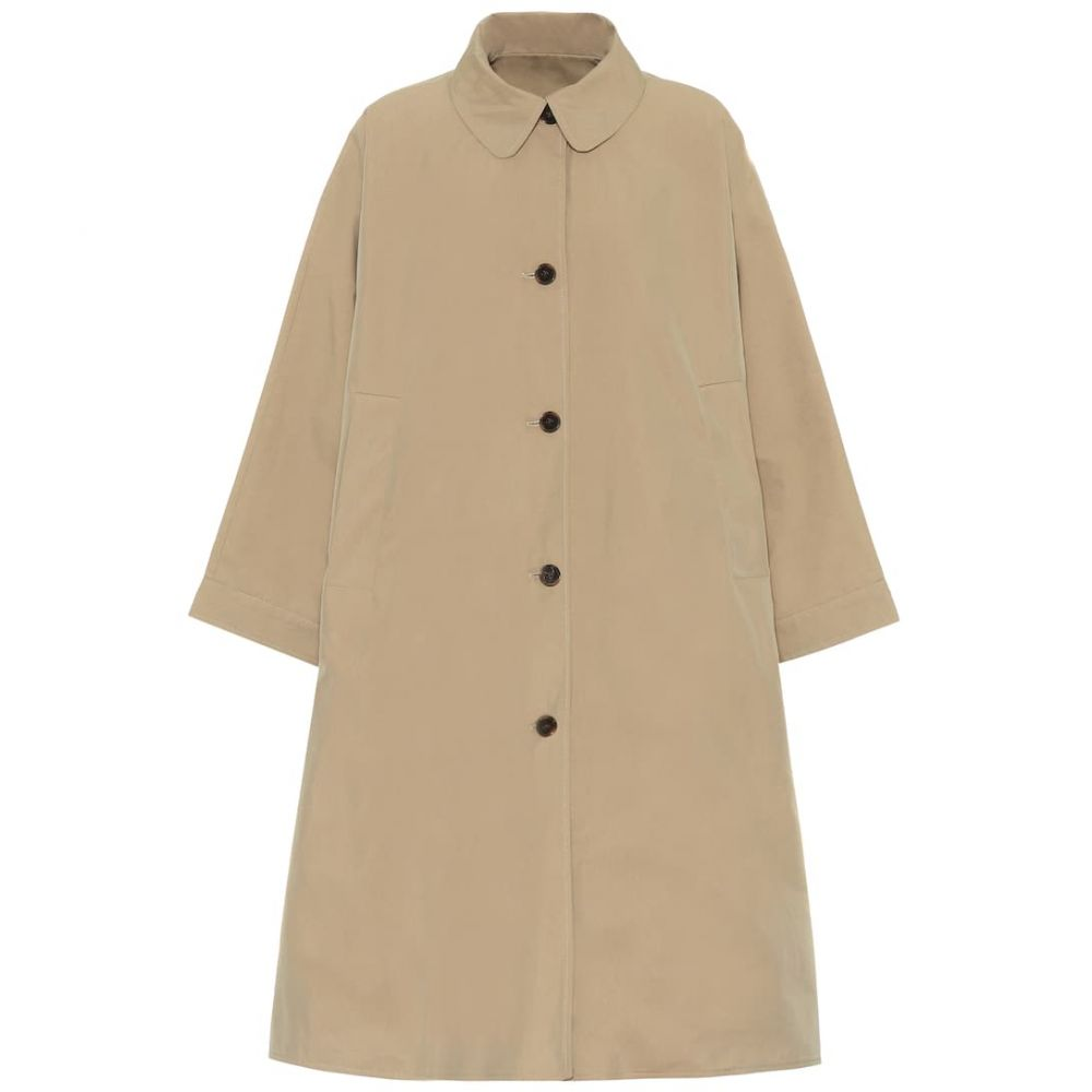 バウム ウンド ヘルガーデン Baum und Pferdgarten レディース コート アウター【darlow reversible cotton-blend coat】Brown Blue Mini