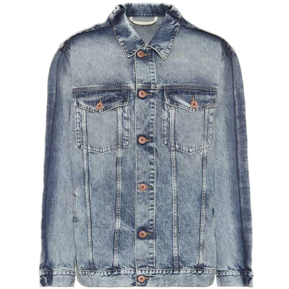 メゾン マルジェラ Maison Margiela レディース ジャケット Gジャン アウター【denim jacket】Blu Denim Used