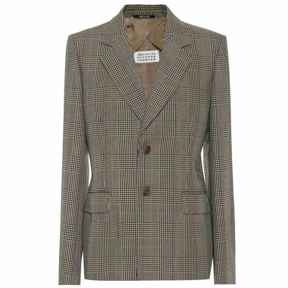 メゾン マルジェラ Maison Margiela レディース スーツ・ジャケット アウター【houndstooth blazer】Galles Camel/Black