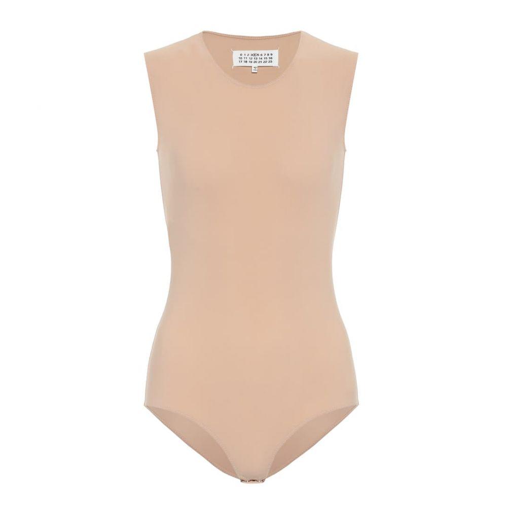 メゾン マルジェラ Maison Margiela レディース ボディースーツ インナー・下着【sleeveless stretch-jersey bodysuit】Skin