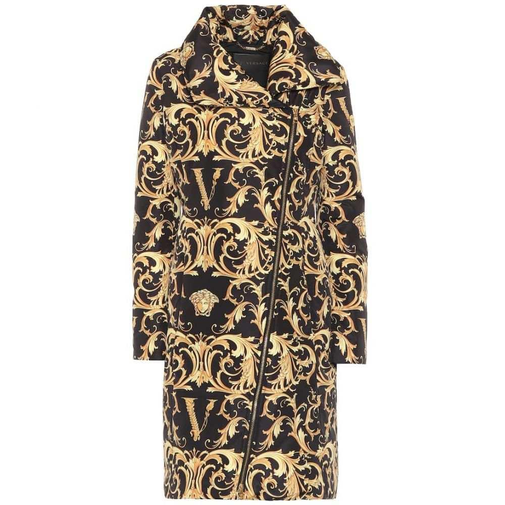 ヴェルサーチ Versace レディース ダウン・中綿ジャケット アウター【printed puffer coat】F. Do Nero/Stampa