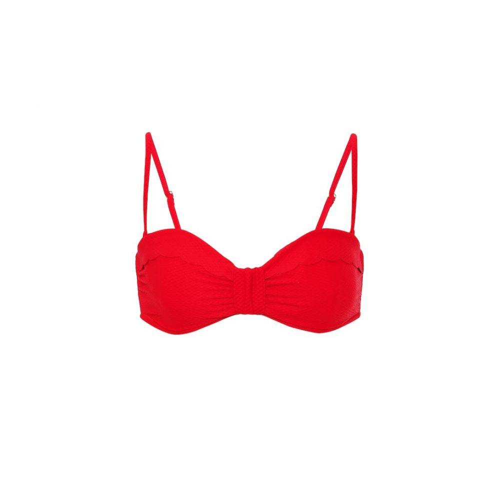 ハイジ クライン Heidi Klein レディース トップのみ 水着・ビーチウェア【pampelonne bandeau bikini top】Red