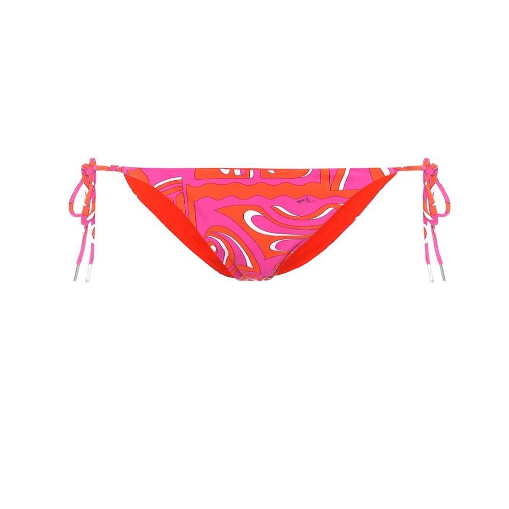 エミリオ プッチ Emilio Pucci Beach レディース ボトムのみ 水着・ビーチウェア【printed bikini bottoms】Arancio/Fuxia
