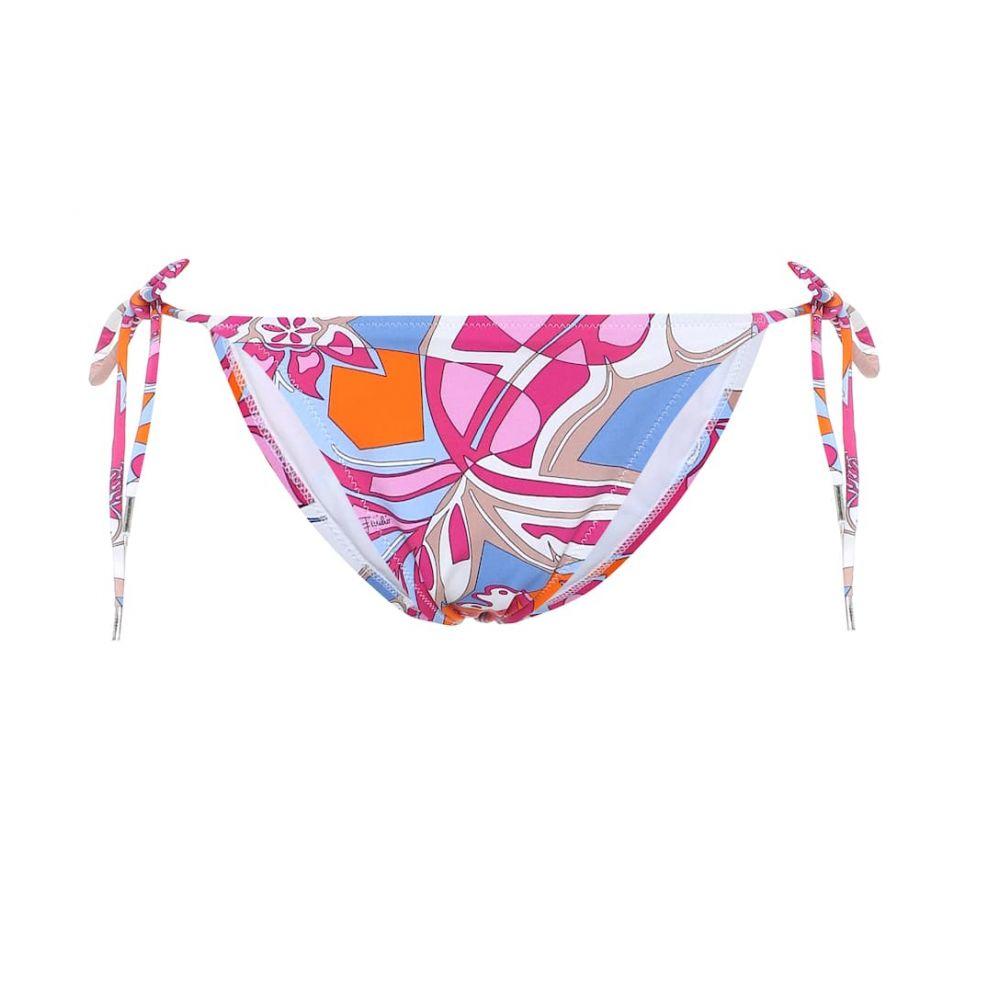 エミリオ プッチ Emilio Pucci Beach レディース ボトムのみ 水着・ビーチウェア【printed bikini bottoms】Fuxia/Azzurro