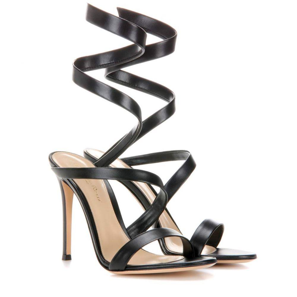 ジャンヴィト ロッシ Gianvito Rossi レディース サンダル・ミュール シューズ・靴【opera leather sandals】Black