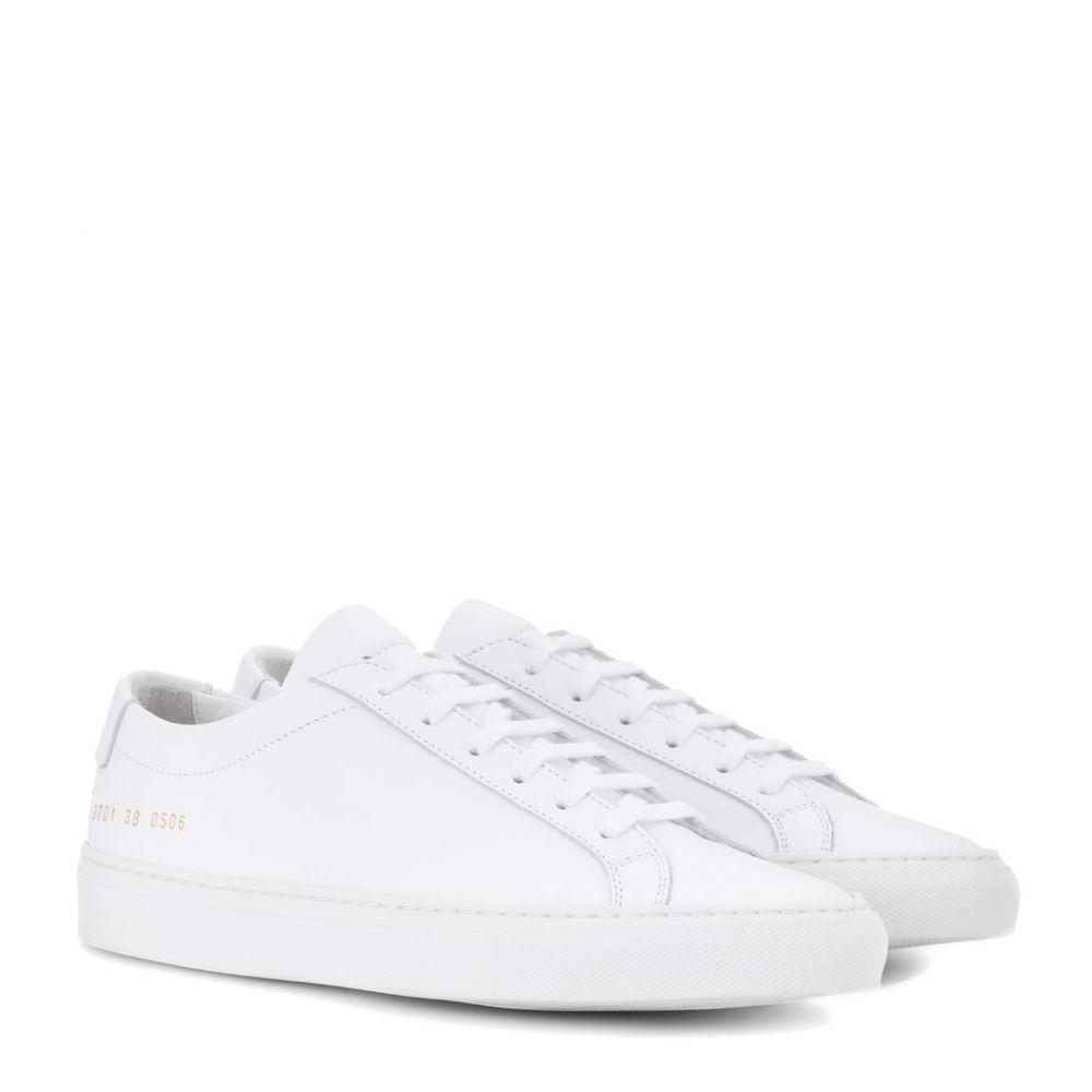 コモン プロジェクト Common Projects レディース スニーカー シューズ・靴【original achilles leather sneakers】White