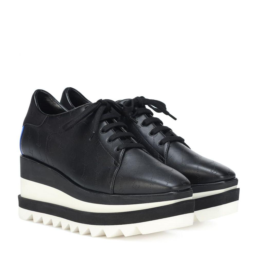 ステラ マッカートニー Stella McCartney レディース スニーカー シューズ・靴【sneak-elyse platform sneakers】Black Blk Rb R Rb