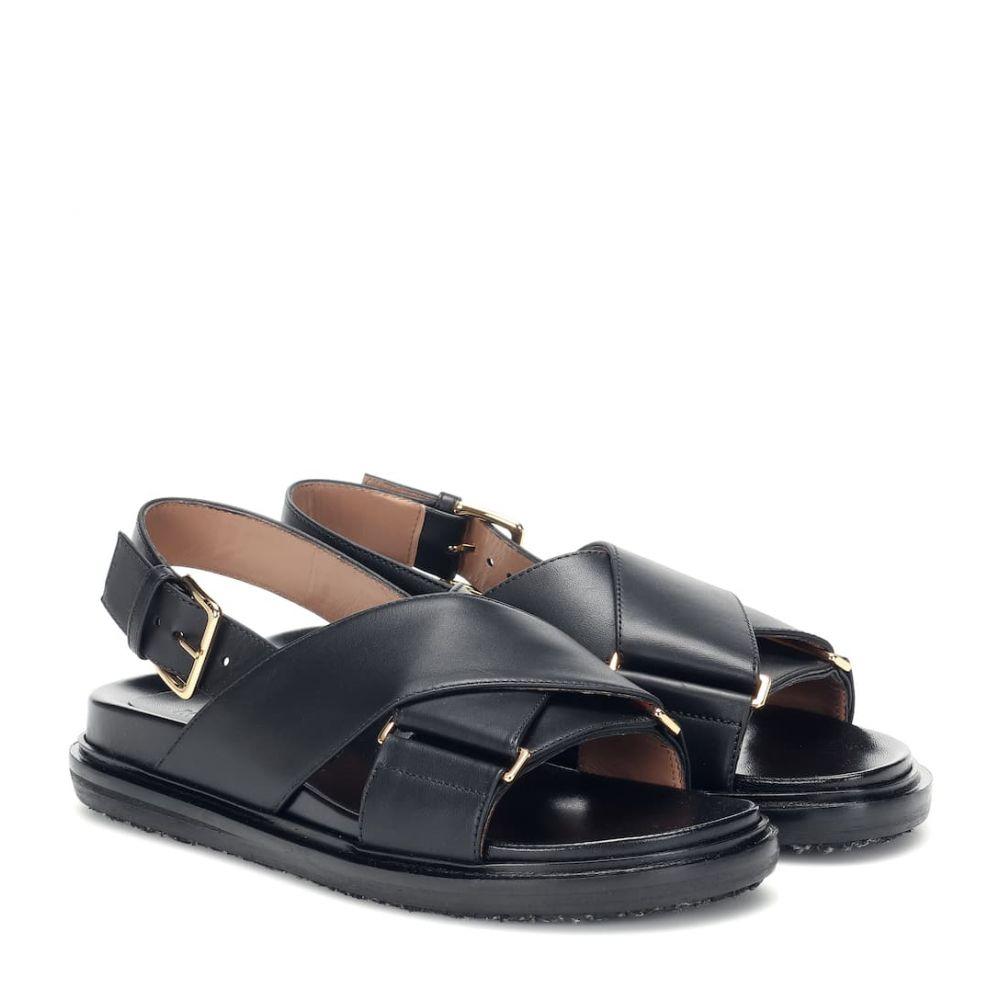 マルニ Marni レディース サンダル・ミュール シューズ・靴【leather sandals】
