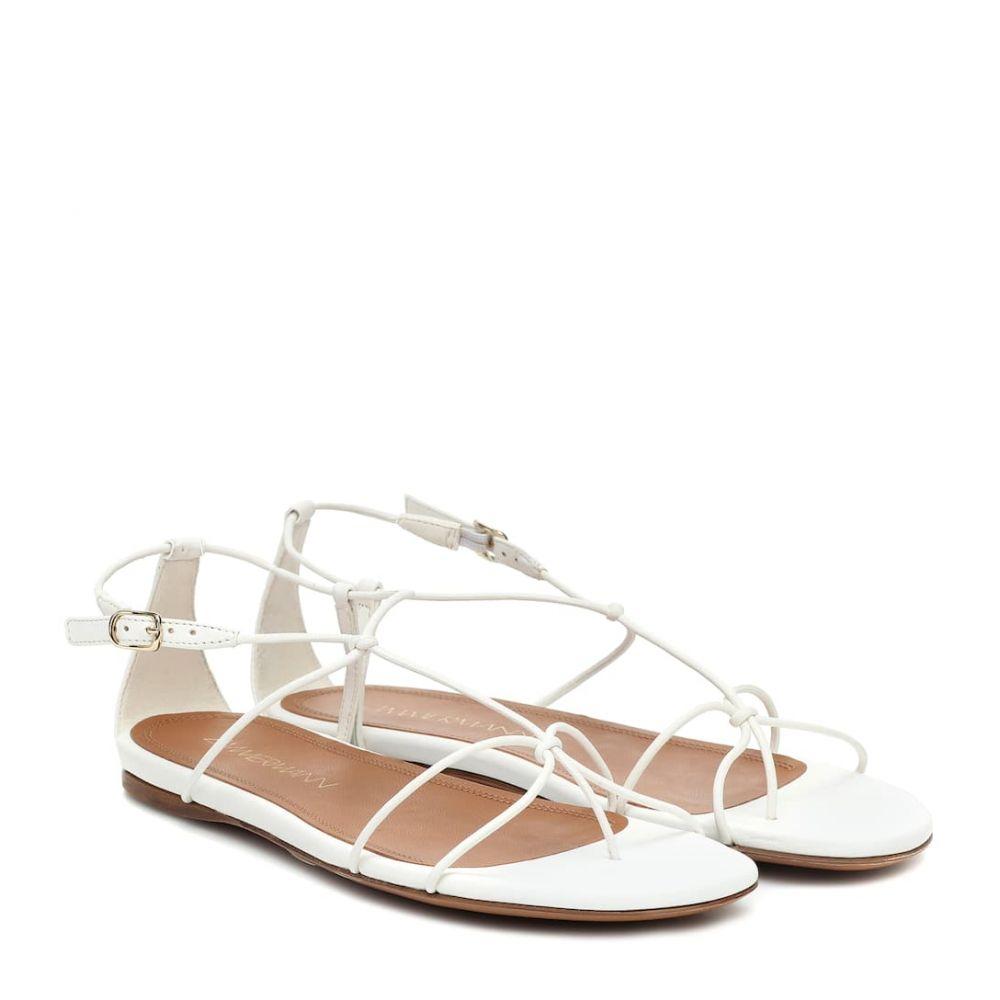 ジマーマン Zimmermann レディース サンダル・ミュール シューズ・靴【leather sandals】Off White