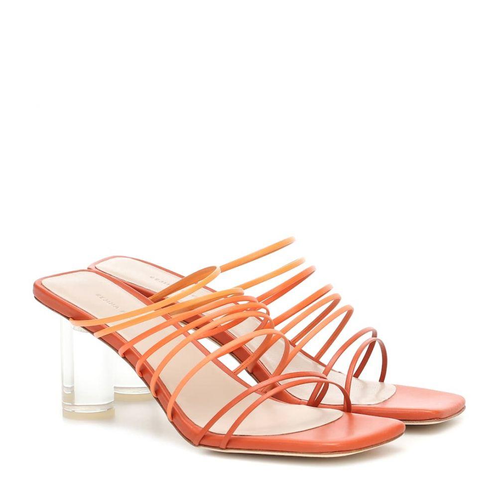 レジーナ ピヨ Rejina Pyo レディース サンダル・ミュール シューズ・靴【zoe leather sandals】Leather Ombre Rust