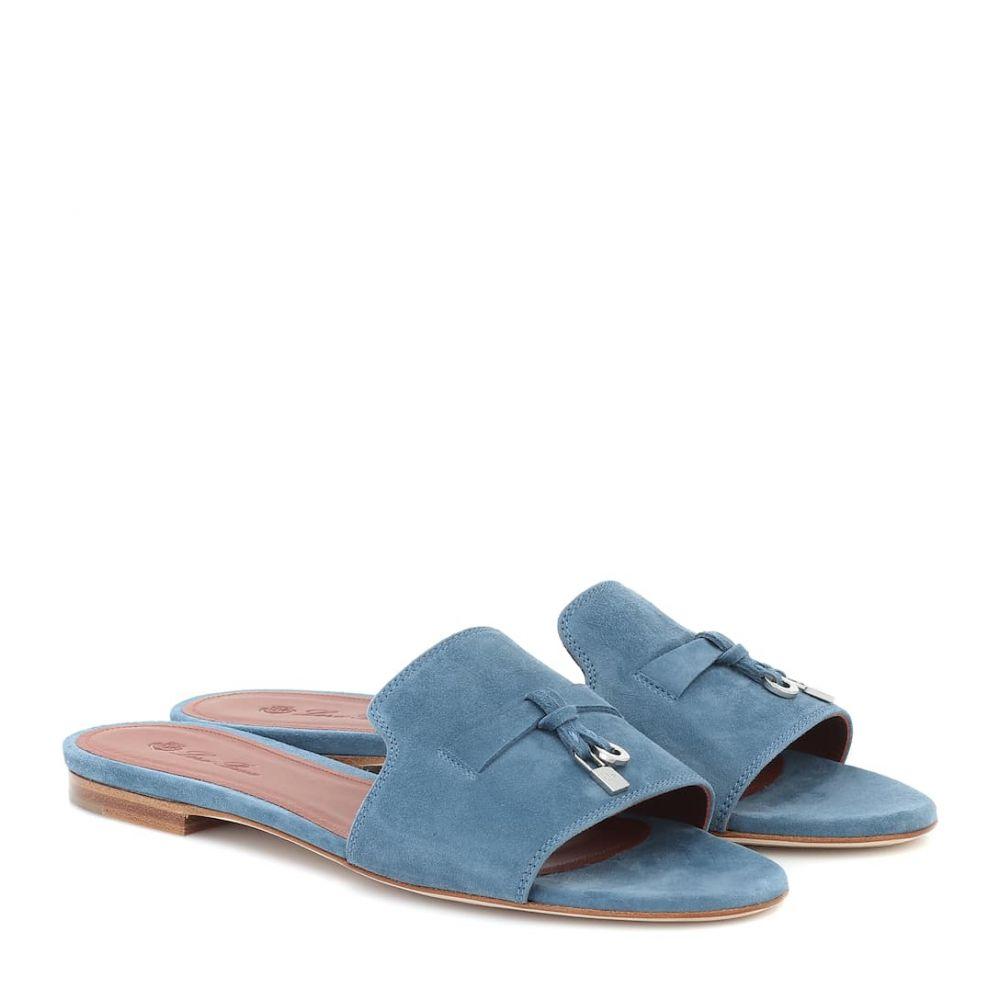 ロロピアーナ Loro Piana レディース サンダル・ミュール シューズ・靴【summer charms suede sandals】