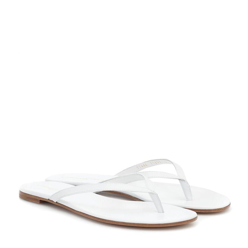 ジャンヴィト ロッシ Gianvito Rossi レディース サンダル・ミュール シューズ・靴【leather sandals】White