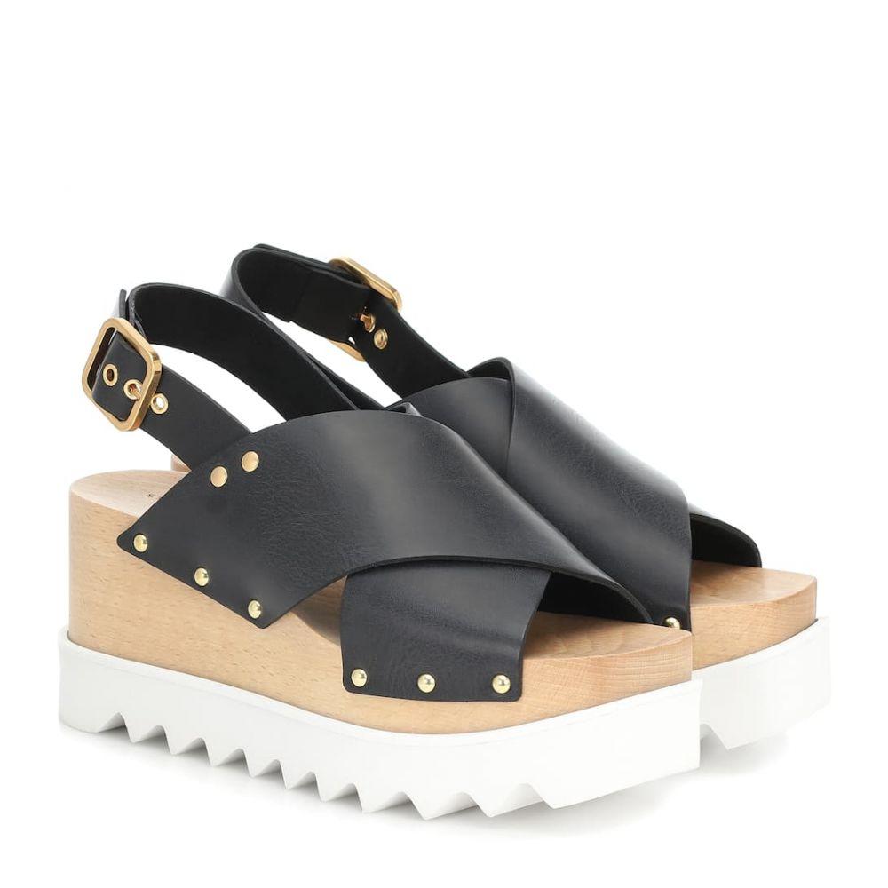 ステラ マッカートニー Stella McCartney レディース サンダル・ミュール シューズ・靴【elyse platform sandals】Black