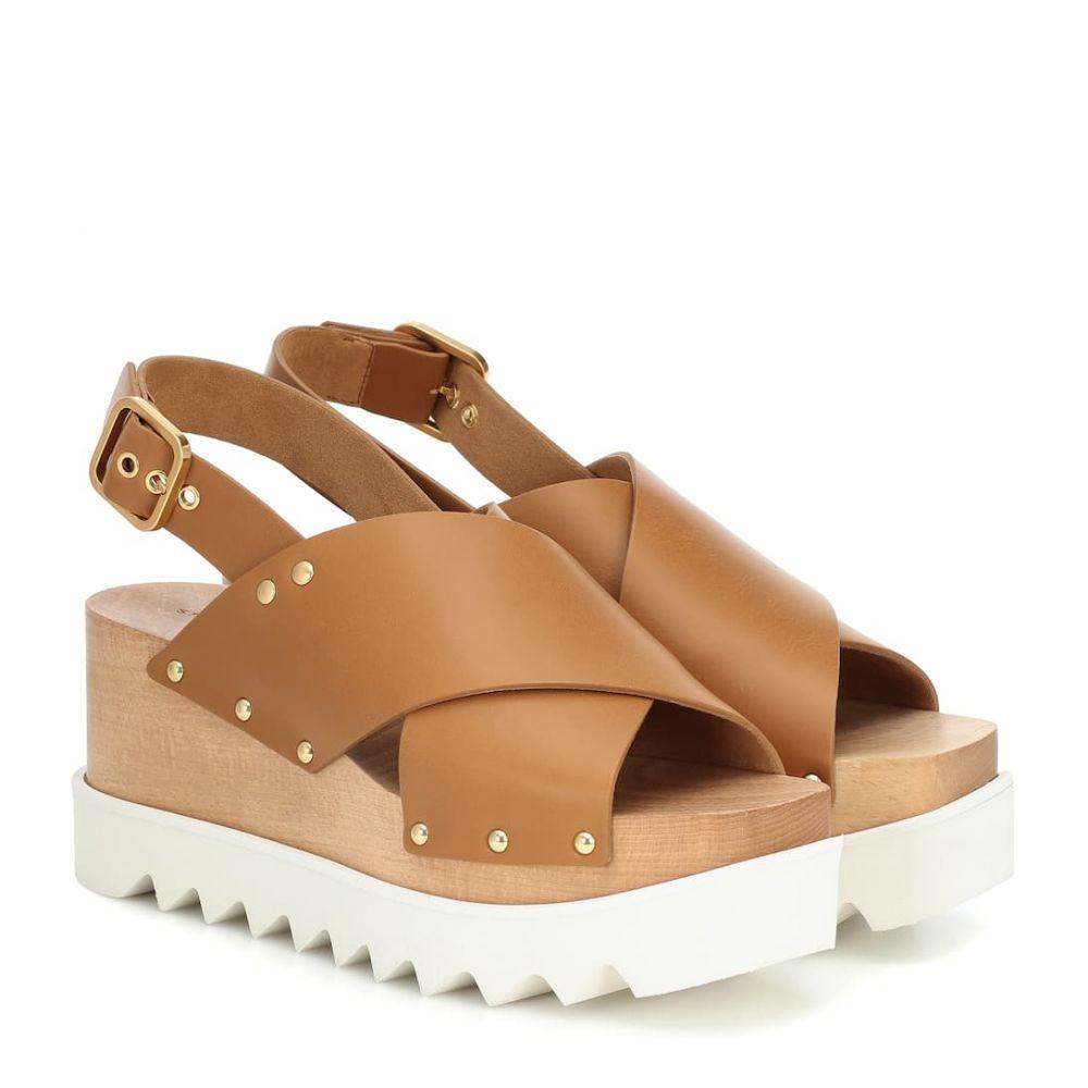 ステラ マッカートニー Stella McCartney レディース サンダル・ミュール シューズ・靴【elyse platform sandals】Light Tan