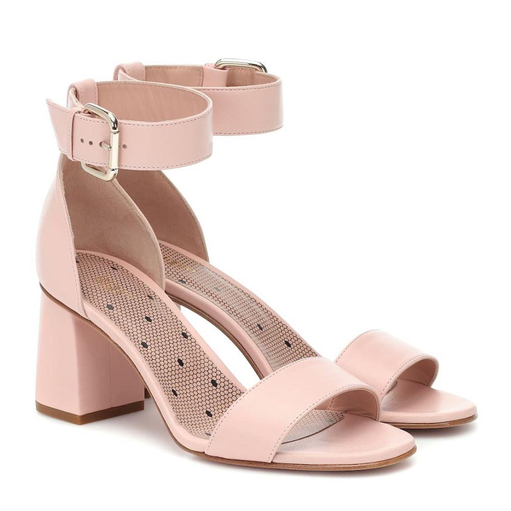 レッド ヴァレンティノ REDValentino レディース サンダル・ミュール シューズ・靴【red (v) leather block heel sandals】