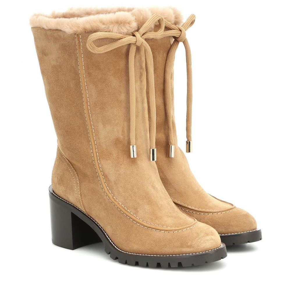 ジミー チュウ Jimmy Choo レディース ブーツ ショートブーツ シューズ・靴【buffy 65 suede ankle boots】Honey