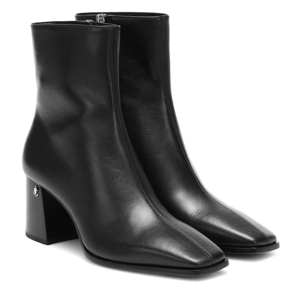 ジミー チュウ Jimmy Choo レディース ブーツ ショートブーツ シューズ・靴【bryelle 65 leather ankle boots】Black
