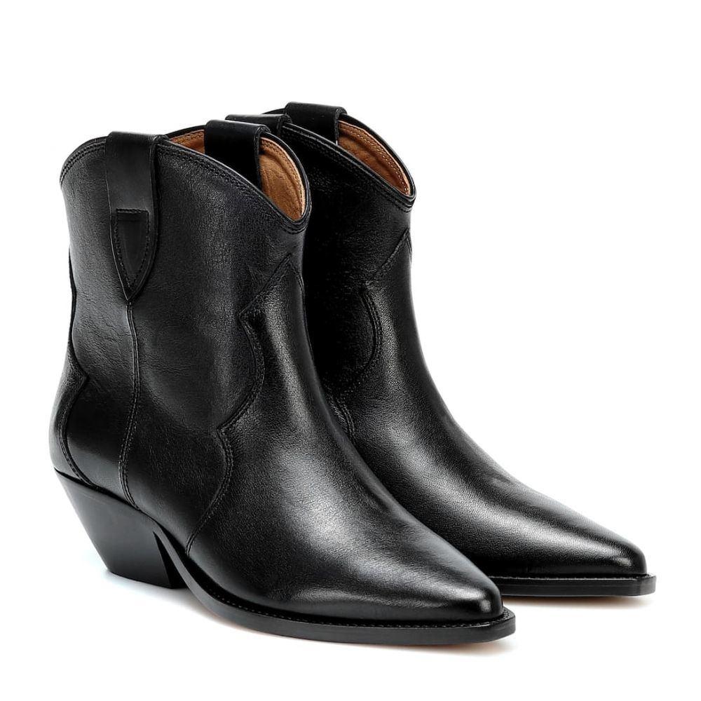 イザベル マラン Isabel Marant レディース ブーツ ショートブーツ シューズ・靴【dewina leather ankle boots】Black