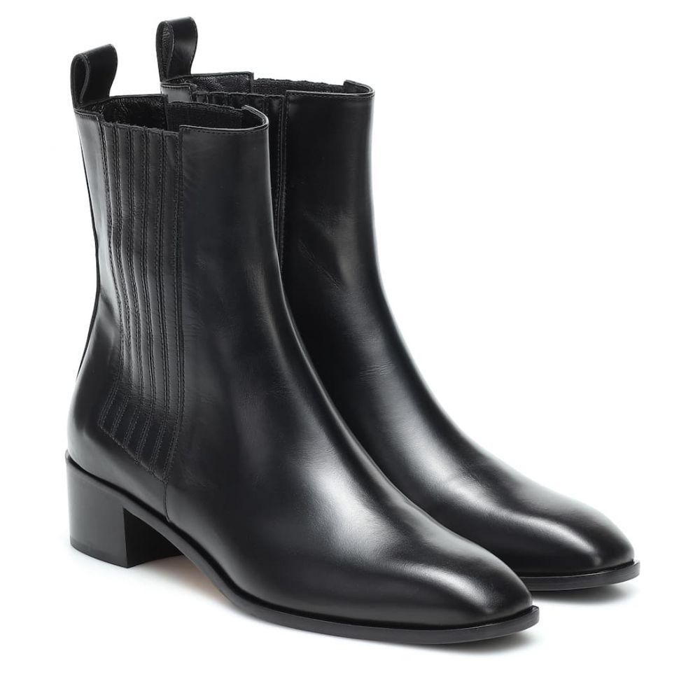 アイデ aeyde レディース ブーツ ショートブーツ シューズ・靴【neil leather ankle boots】Black