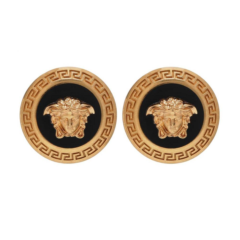 ヴェルサーチ Versace レディース イヤリング・ピアス ジュエリー・アクセサリー【logo earrings】