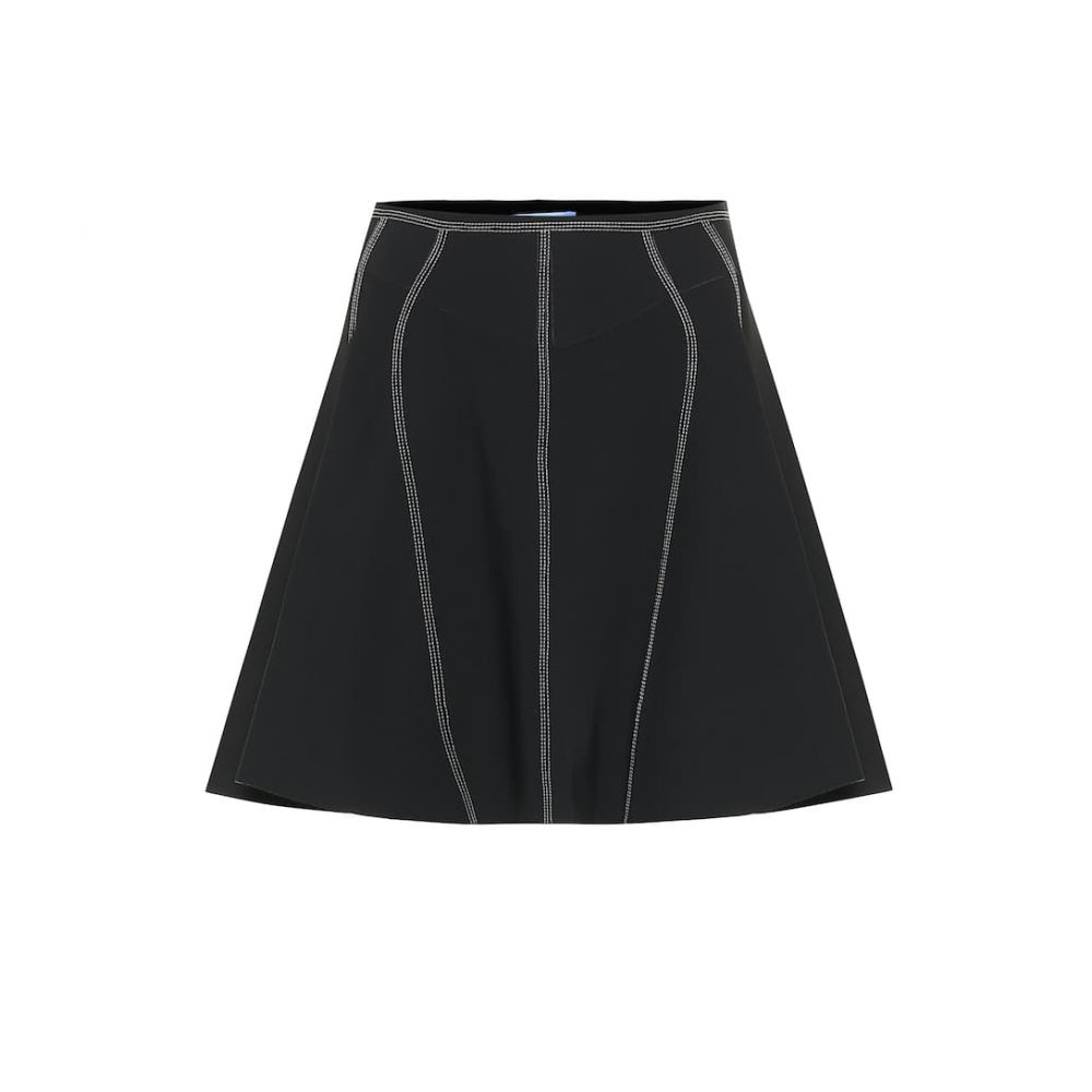 ミュグレー Mugler レディース ミニスカート スカート【scuba miniskirt】Black/Mugler Blue