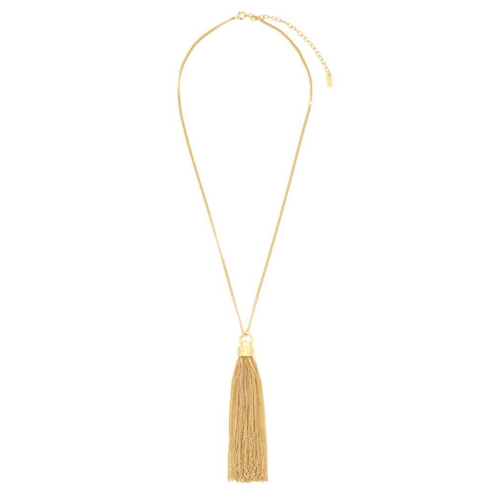 イヴ サンローラン Saint Laurent レディース ネックレス ジュエリー・アクセサリー【tassel necklace】