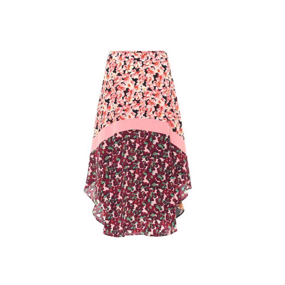 ステラ マッカートニー Stella McCartney レディース ひざ丈スカート スカート【printed silk midi skirt】Black