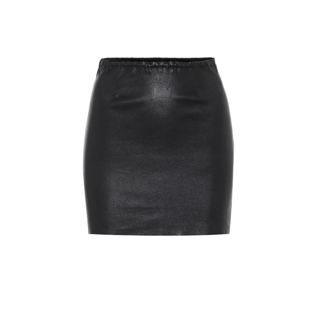 ストールス Stouls レディース ミニスカート スカート【rita leather miniskirt】Noir