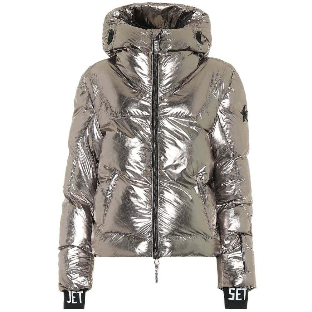 ジェットセット Jet Set レディース スキー・スノーボード ジャケット アウター【julia metallic padded ski jacket】Silver
