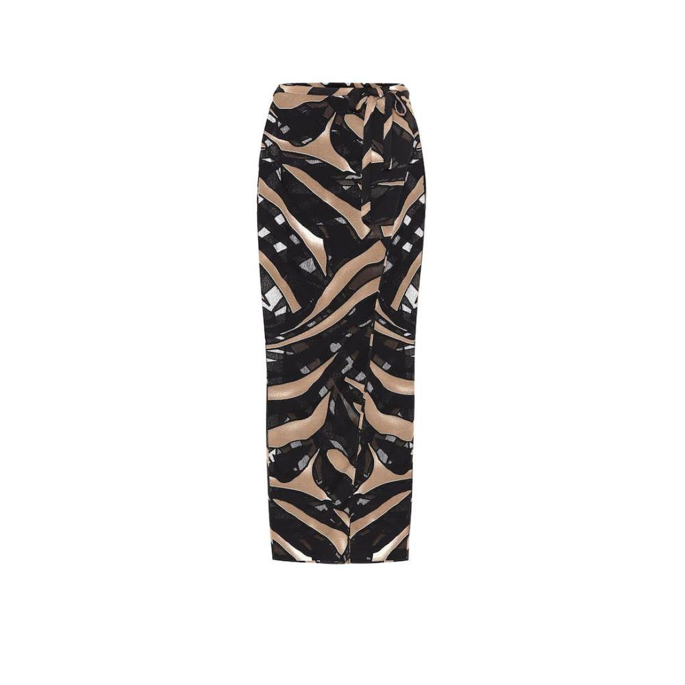 リサ マリー フェルナンデス Lisa Marie Fernandez レディース ロング・マキシ丈スカート ラップスカート スカート【printed wrap skirt】Zebra