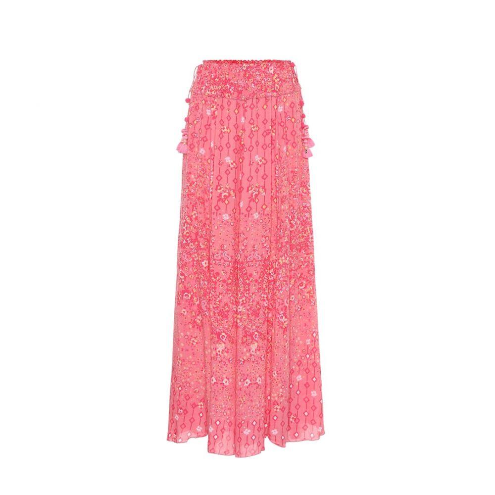 プーペット セント バース Poupette St Barth レディース ロング・マキシ丈スカート スカート【jena paisley-print maxi skirt】Pink Paisley