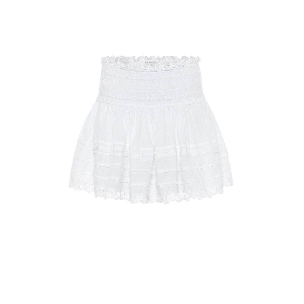 プーペット セント バース Poupette St Barth レディース ミニスカート スカート【galia cotton miniskirt】White Cotton