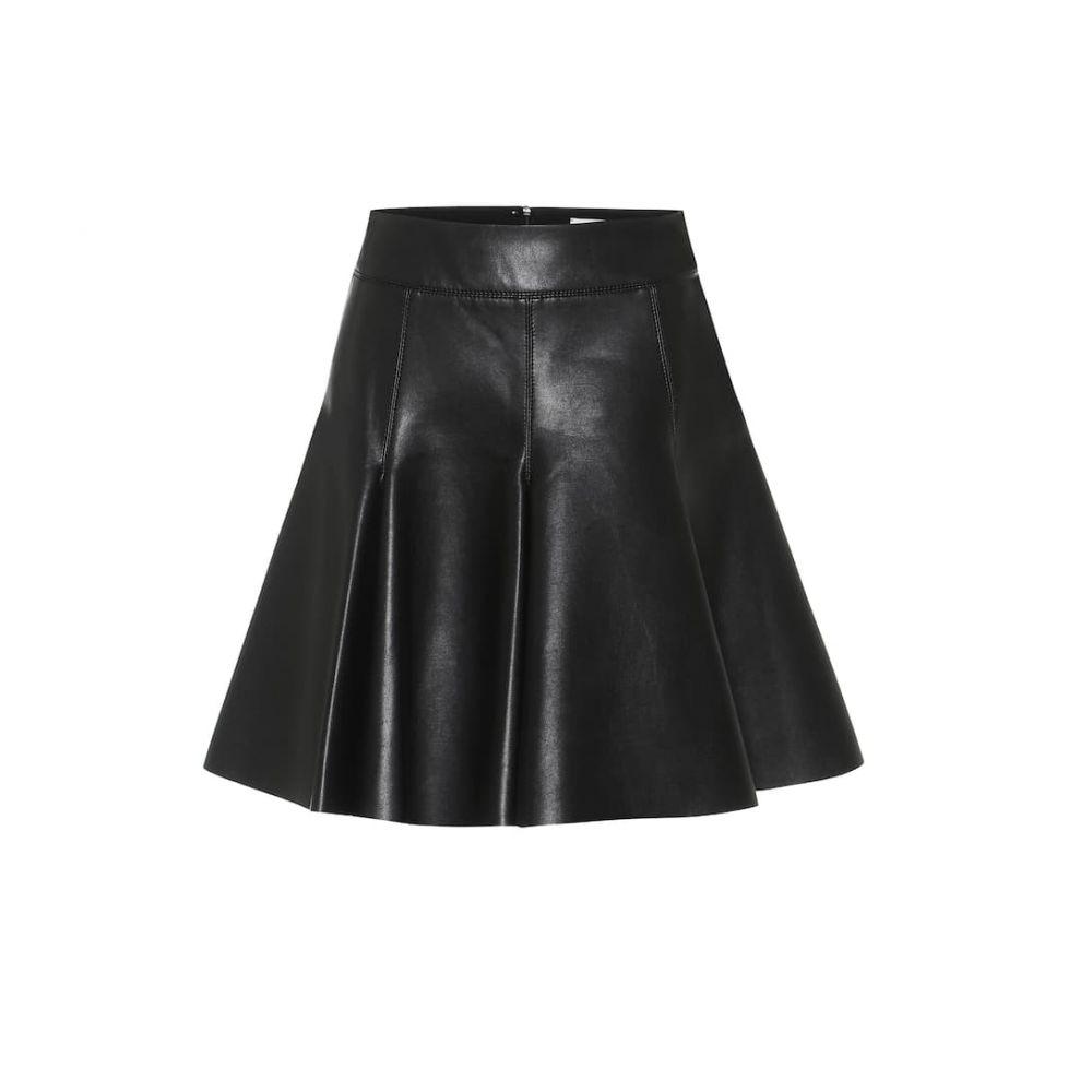 ドロシー シューマッハ Dorothee Schumacher レディース ミニスカート スカート【faux-leather miniskirt】Pure Black
