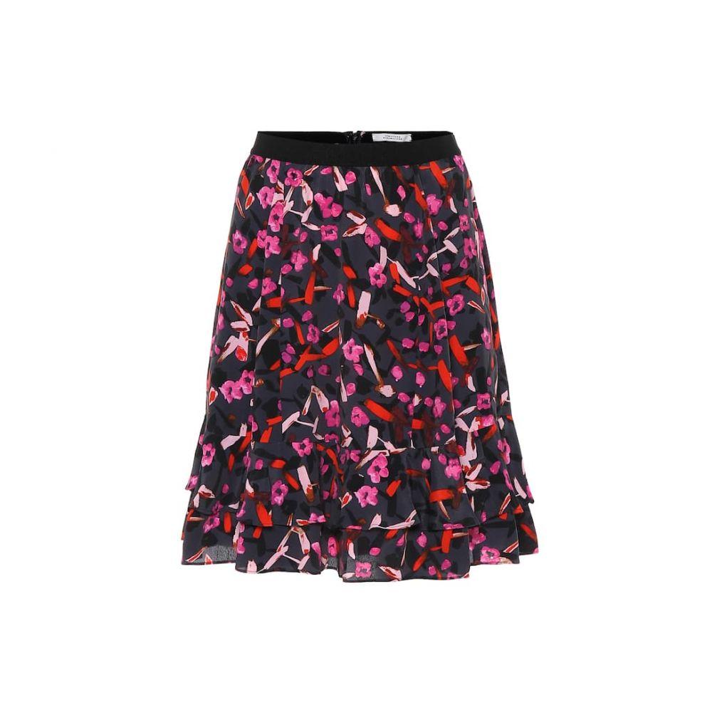 ドロシー シューマッハ Dorothee Schumacher レディース ミニスカート スカート【abstract flowering floral miniskirt】Grey Artsy