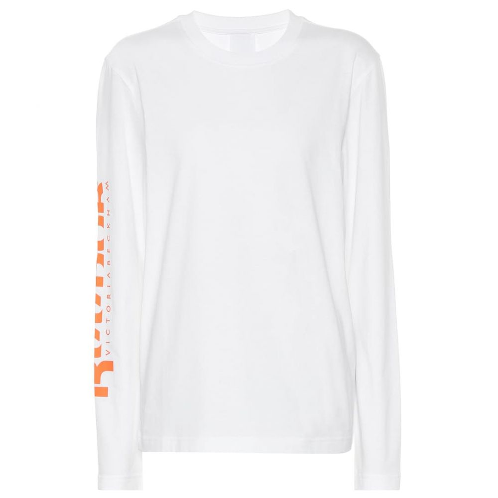 リーボック Reebok x Victoria Beckham レディース トップス 【cotton top】White