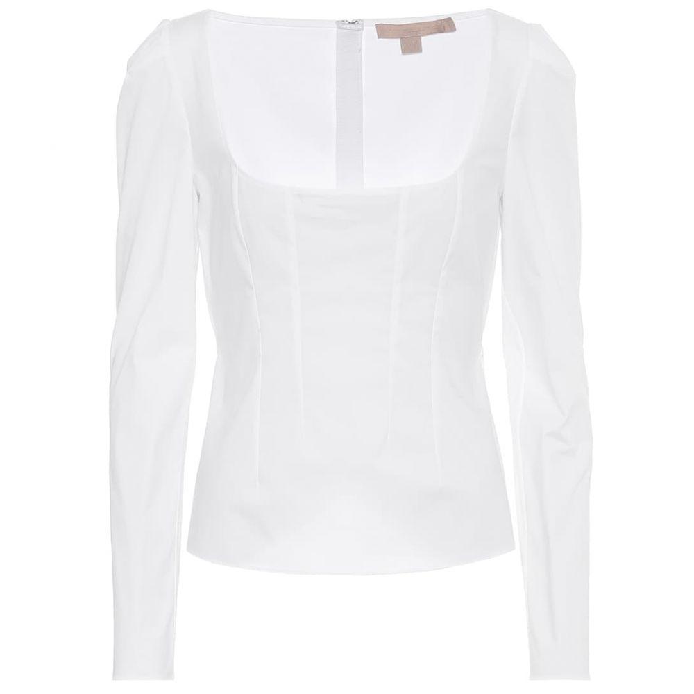 ブロック コレクション Brock Collection レディース トップス 【quaderno stretch-cotton top】White